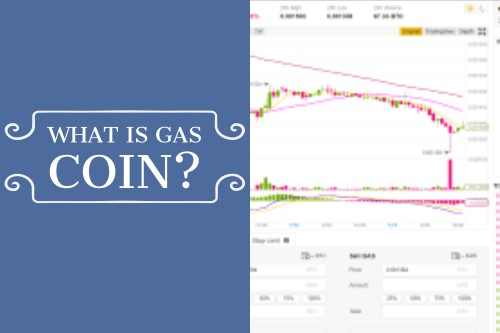 What is Gas Coin text with gas chart