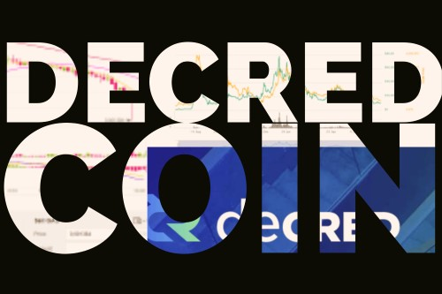 Decred Coin text
