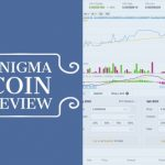 Enigma Coin review text next to chart