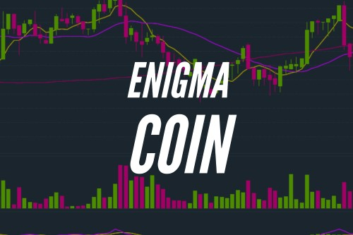 Enigma Coin text on enigma chart