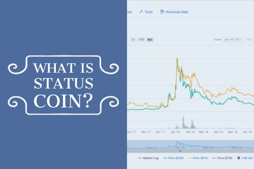 What is Status Coin text