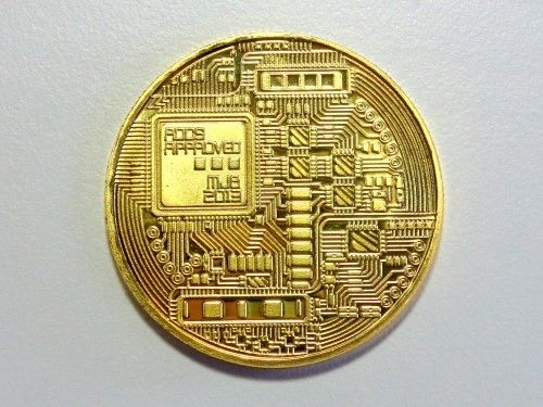 bitcoin back side