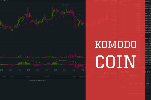 KMD Coin text on chart