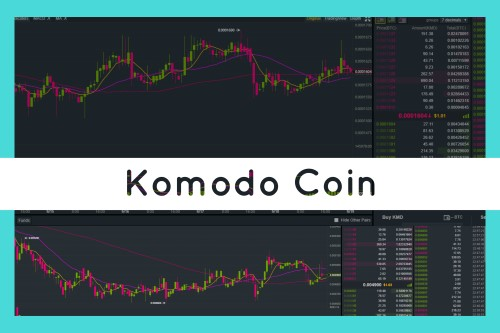 Komodo Coin text